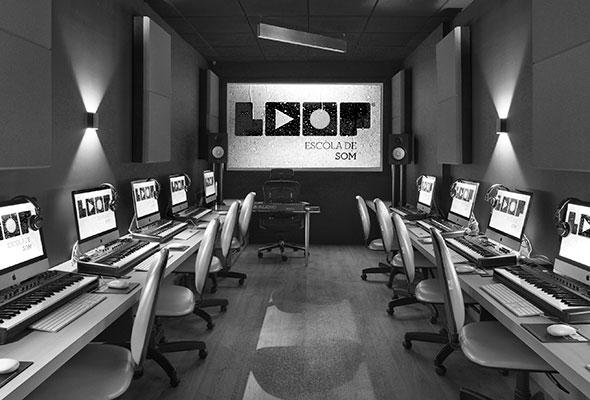 Laboratório LOOP Escola de Som